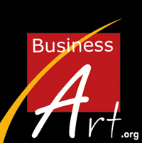 logo business art fair