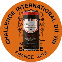 Winestar bordeaux Challenge du Vin 2